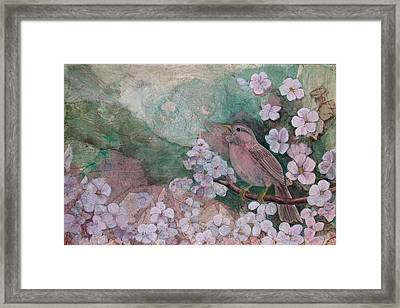 Spring Song Framed Print by Sandy Clift