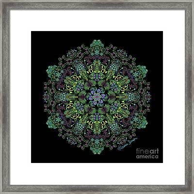 Spring Spiral Framed Print