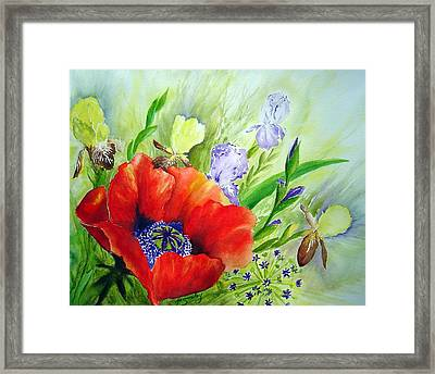 Spring Splendor Framed Print by Joanne Smoley