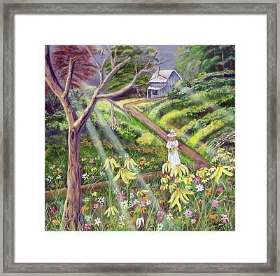 Spring Splendor Framed Print by Mikki Alhart