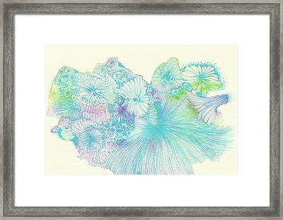 Spring - #ss18dw008 Framed Print by Satomi Sugimoto