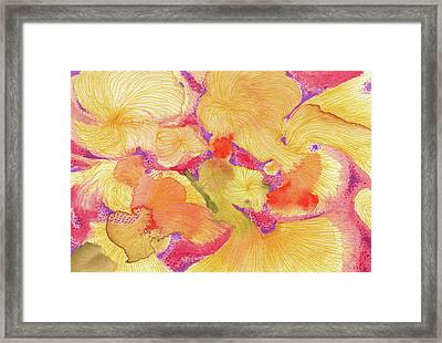 Spring - #ss18dw009 Framed Print by Satomi Sugimoto
