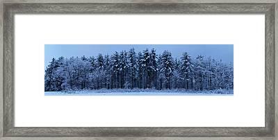 Spring Storm Framed Print by Chris Howe
