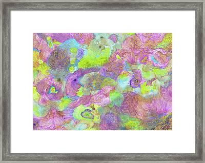 Spring Storm - Ss17dw001 Framed Print by Satomi Sugimoto