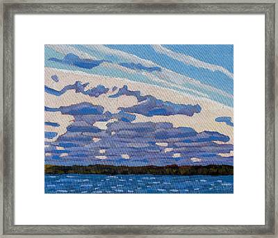 Spring Stratocumulus Framed Print by Phil Chadwick