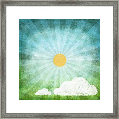 Spring Summer Framed Print