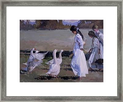Spring Temptress Framed Print