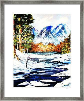 Spring Thaw Framed Print by Al Brown