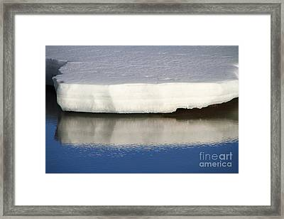 Framed Print featuring the photograph Spring Thaw by Edward R Wisell