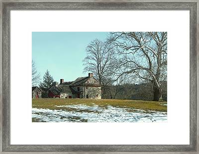 Spring Thaw Framed Print by Gordon Beck