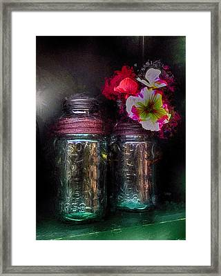Spring Things Framed Print by Tricia Marchlik