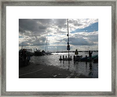Spring Tide Framed Print by Angelina Whittaker Cook