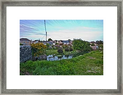Spring Tide At Mylor Bridge Framed Print