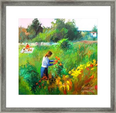 Spring Time Framed Print by George Siaba