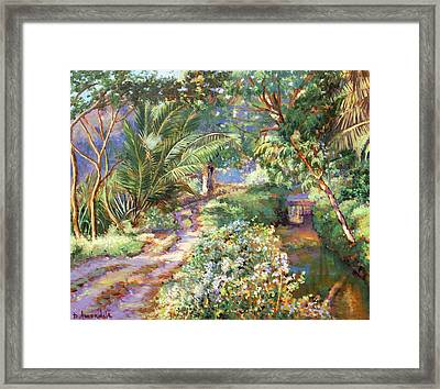 Spring Time In South India Framed Print by Dominique Amendola
