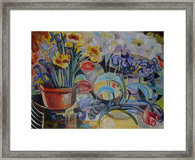 Spring Time Framed Print by Therese AbouNader