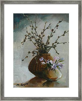 Spring-time Framed Print
