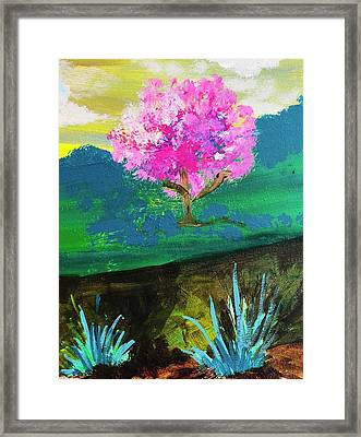 Spring Trip Framed Print