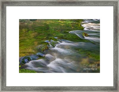 Spring Water Framed Print