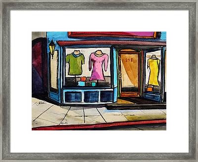 Spring Windows Framed Print