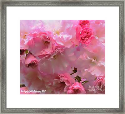 Spring With A Cherry On Top Framed Print
