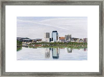 Springfield Reflections Framed Print by Richard Nowak