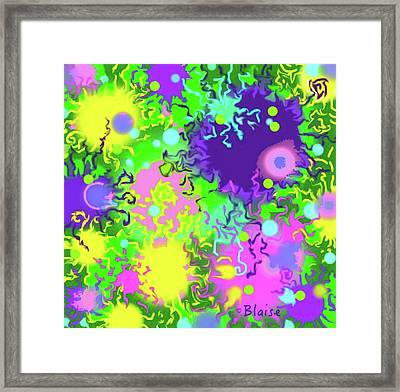 Springing Into Summer Framed Print