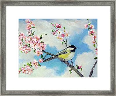 Framed Print featuring the painting Spring's Promise by Donna Tucker