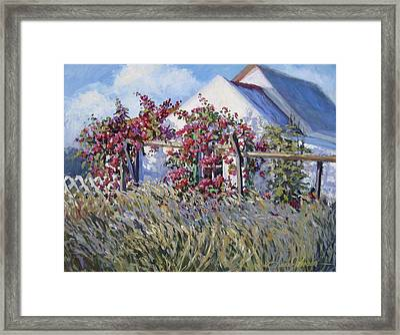 Springs Whisper Framed Print by L Diane Johnson