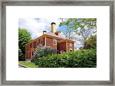 Springtime At Folsom Tavern Framed Print