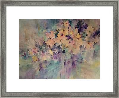 Springtime Bouquet Framed Print