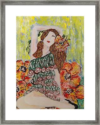 Springtime Framed Print by Cynda LuClaire
