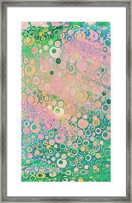 Springtime Festival On Fairy Meadow Framed Print