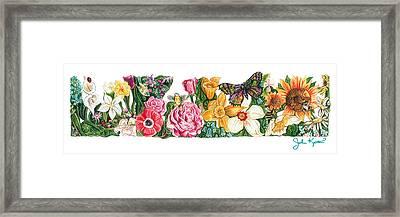 Springtime Flowers Framed Print by John Keaton