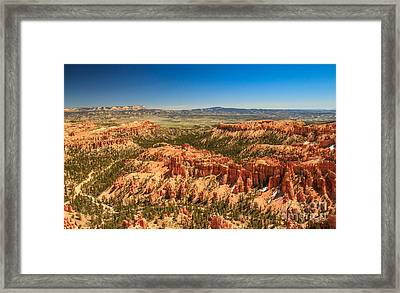Springtime In Bryce Framed Print by Robert Bales