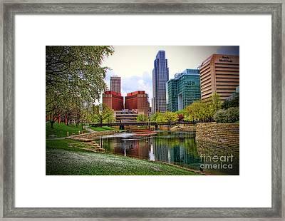 Springtime In Omaha Framed Print