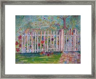 Springtime In Virginia Framed Print by Marlene Robbins