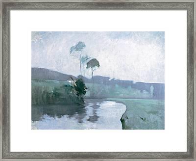 Springtime Framed Print by John Henry Twachtman