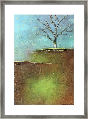 Springtime Leafless Tree Framed Print
