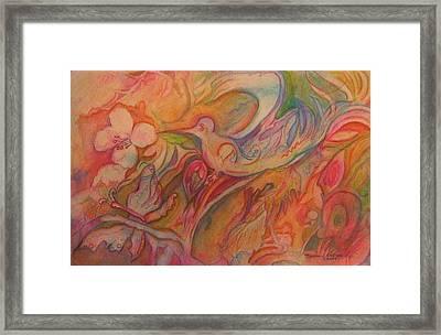 Springtime Framed Print by Marlene Robbins