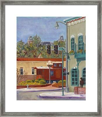 Springtime On Dickson Street Framed Print by Theresa Roth