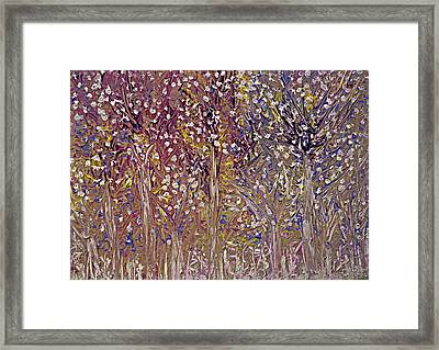 Springtime Painting Framed Print by Don  Wright