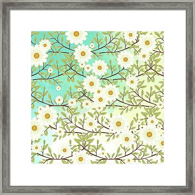 Springtime Scene Framed Print