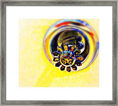 Sprinkler Framed Print by Randall Weidner