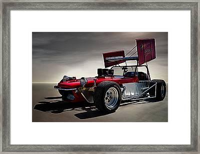 Sprint Car Framed Print