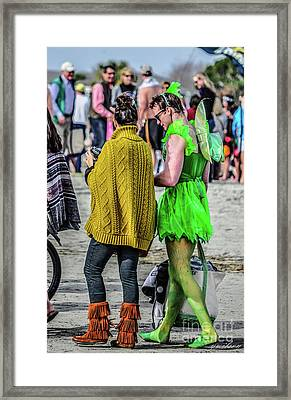 Sprite Framed Print by Yvette Wilson