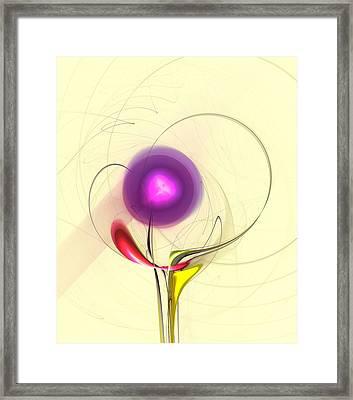 Sprout Framed Print by Anastasiya Malakhova