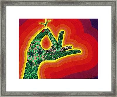 Sprout Framed Print by Christie Ross