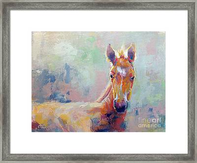 Sprout Framed Print by Kimberly Santini