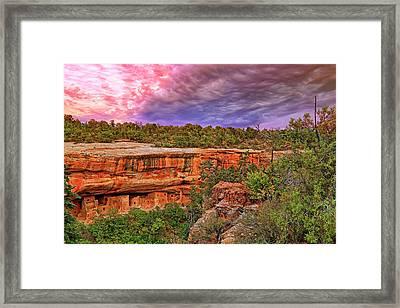 Spruce Tree House At Mesa Verde National Park - Colorado Framed Print